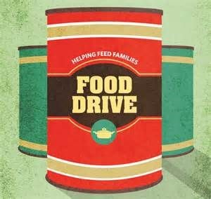food drive can